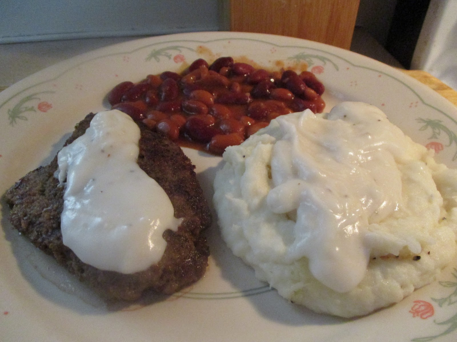 Bison Are Ready For Thanksgiving >> Diab2cook Bison Cube Steak W Gravy Mashed Potatoes And Mixed