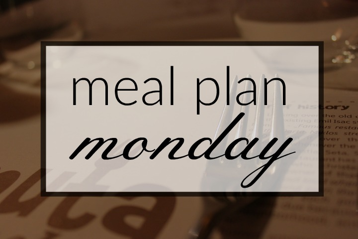 Meal Plan Monday | Weekly Dinner Plans from Line Up and Wait Blog