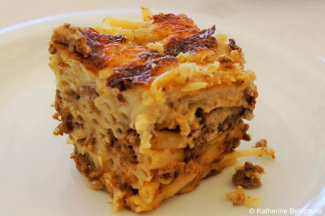 Traditional Greek Foods: Pastisio (παστίτσιο)