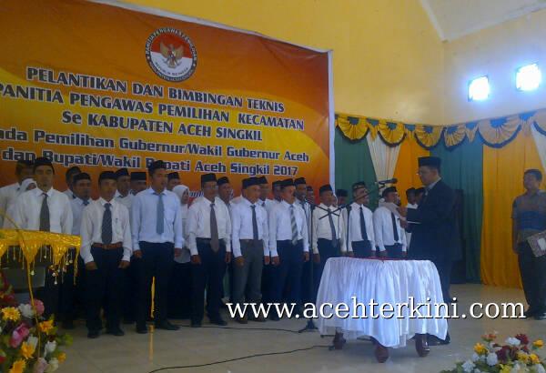 Panwaslihcam Aceh Singkil Mulai Bekerja