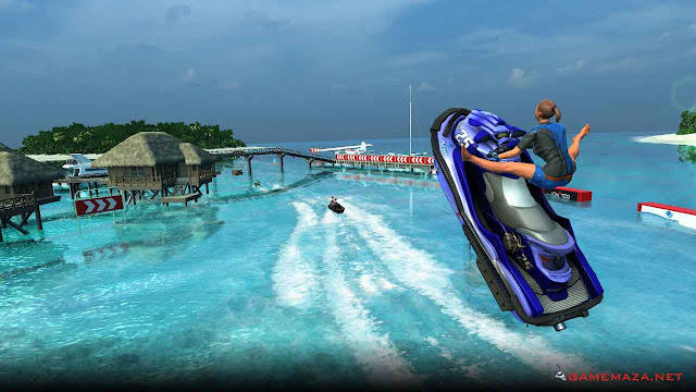 Aqua Moto Racing Utopia Gameplay Screenshot 3