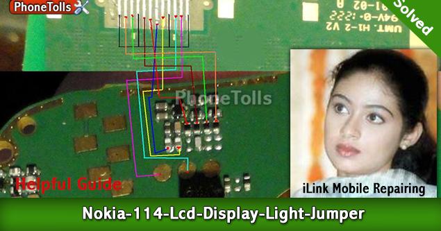 Nokia 114 Lcd Display Light Problem Jumper