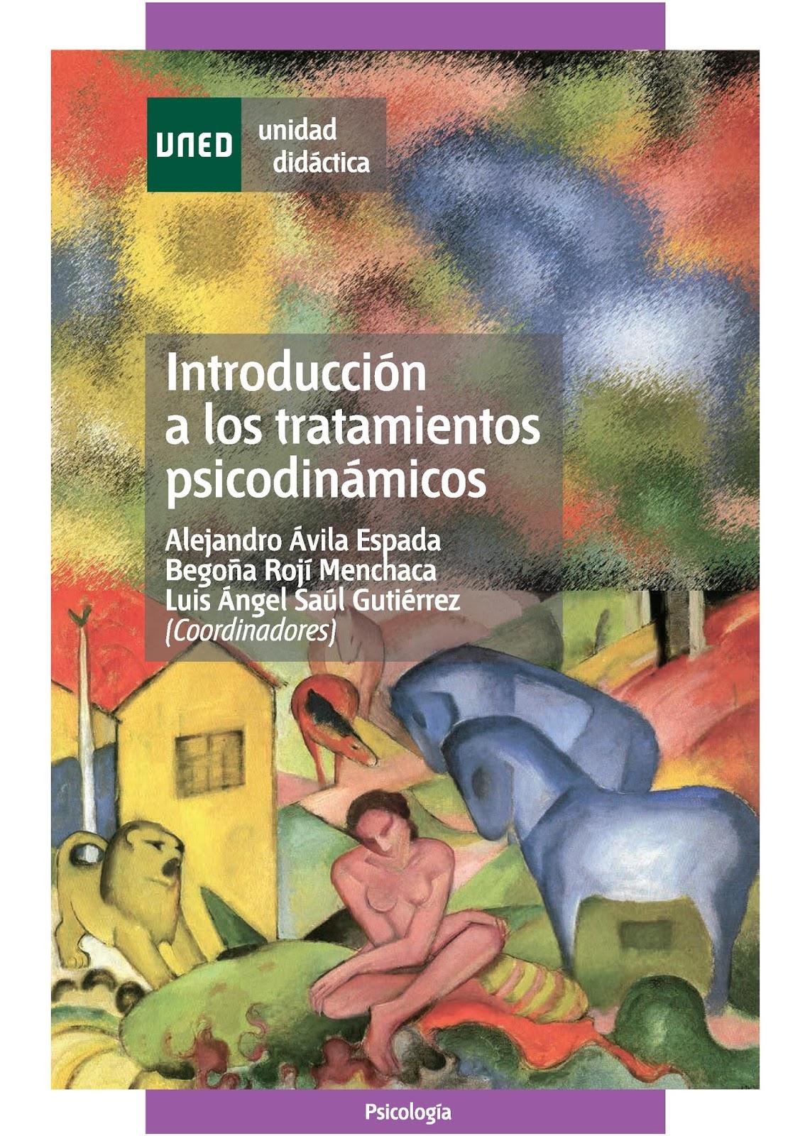 Introducción a los tratamientos psicodinámicos – Alejandro Ávila Espada