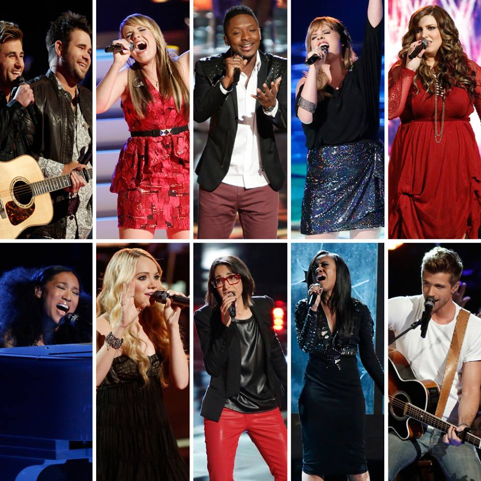 The Voice Season 4 Top 10
