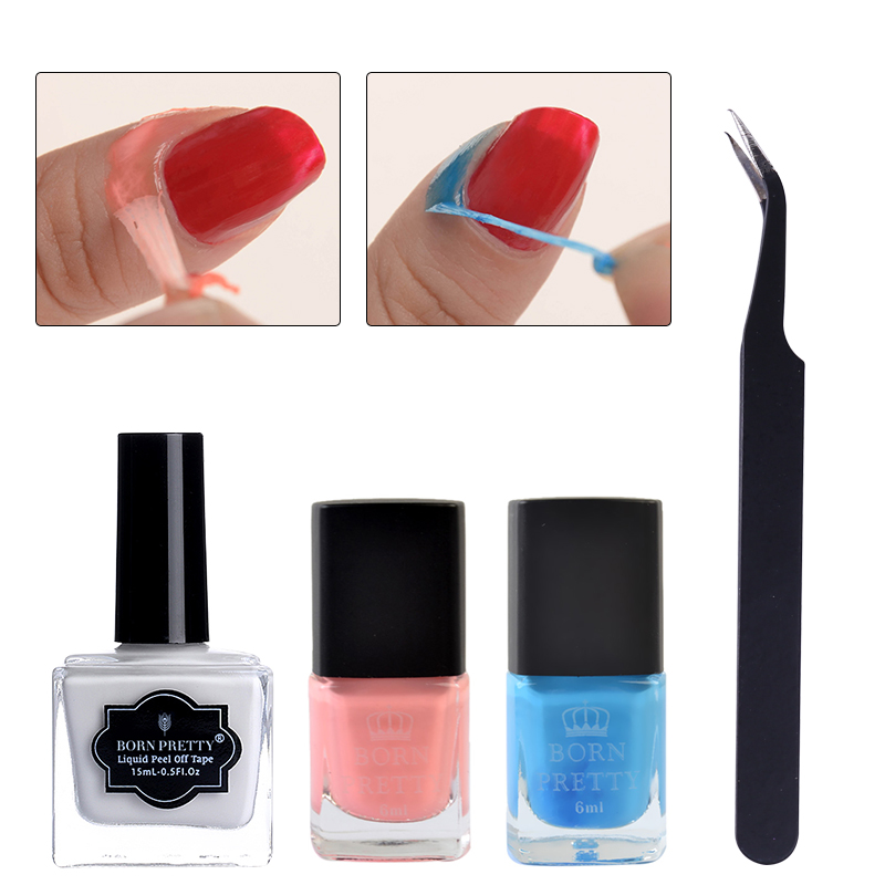 Born pretty store blog bornpretty creative nail design reviews sharing before showing the nail design products i will share you an amazing bornprett new product the liquid tape and the tweezer set must be useful if you often freerunsca Image collections