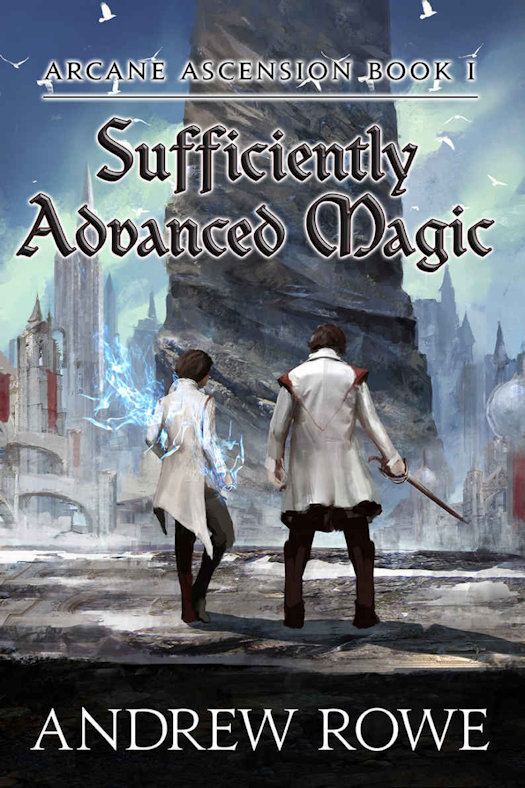 The qwillery spfbo 2017 review sufficiently advanced magic by five years ago corin cadences brother entered the serpent spire a colossal tower with ever shifting rooms traps and monsters fandeluxe Image collections