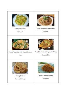 tugas 30 nama masakan indonesia dalam bahasa inggris