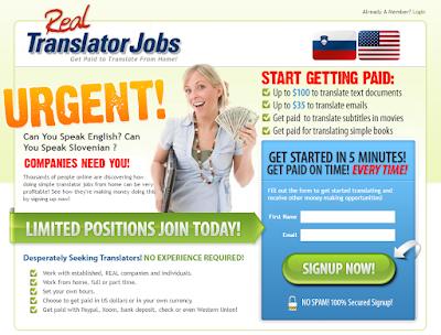 Real Translator Jobs