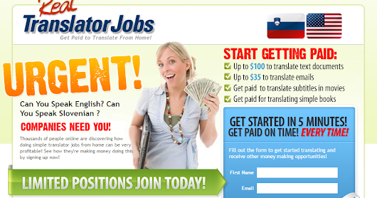 Highest paying jobs - Real Translator Jobs - $100 Bonus To New Affiliates!