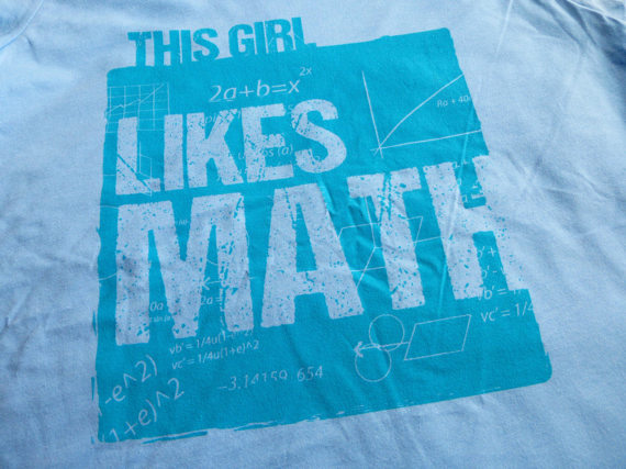 Girls Math STEM Shirt