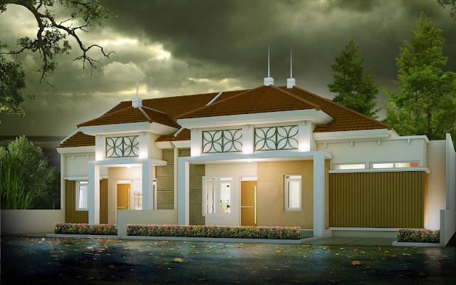 Desain rumah dinas pegawai di kota pare pare
