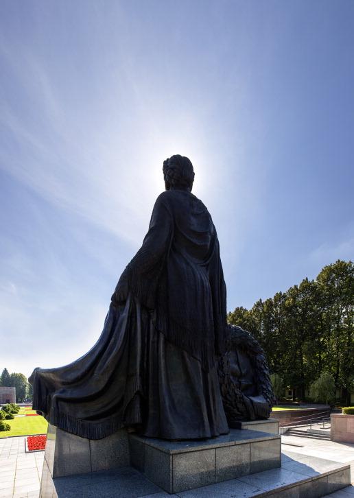 sowjetisches Ehrenmal Berlin Schönholz