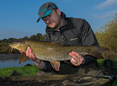 Floodwater Barbel fishing the Swale