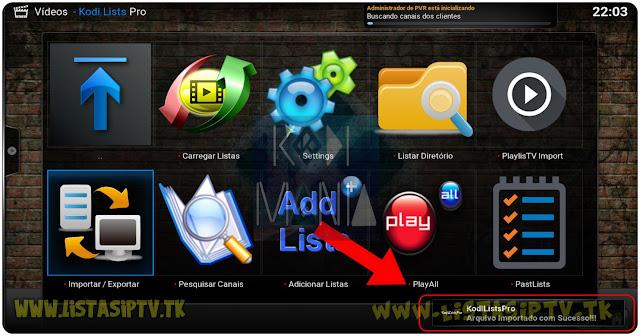 Como Adicionar Mais de 50 Listas de Uma Só vez no Seu Kodi com o Add-on Kodi Lists Pro
