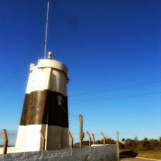 Farol da Marinha, no Morro dos Conventos, em Araranguá