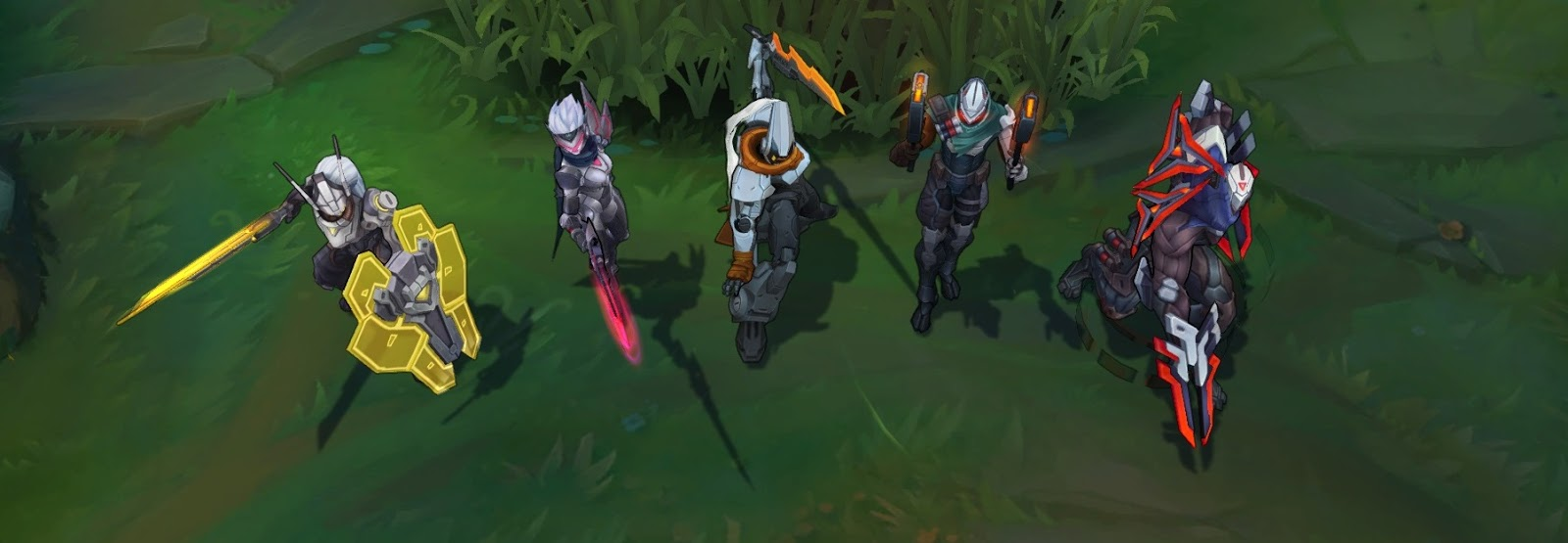 Surrender At 20 820 Pbe Update Project Skins For Master Yi Fiora