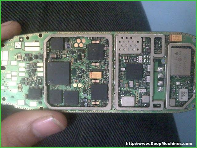 Mesin Bagian Dalam Nokia 3310