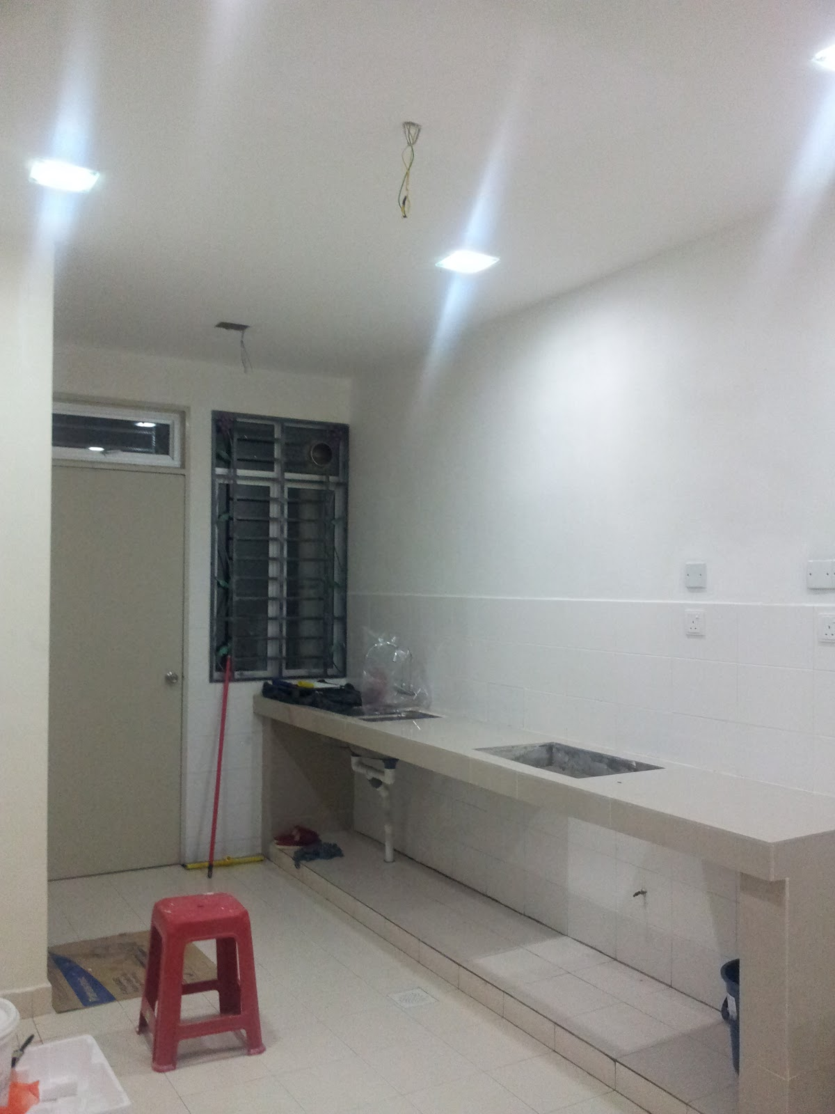 Dapur Nampak Tak Point Lampu Tambahan Tu Kotak 4segi Mcm Dlight