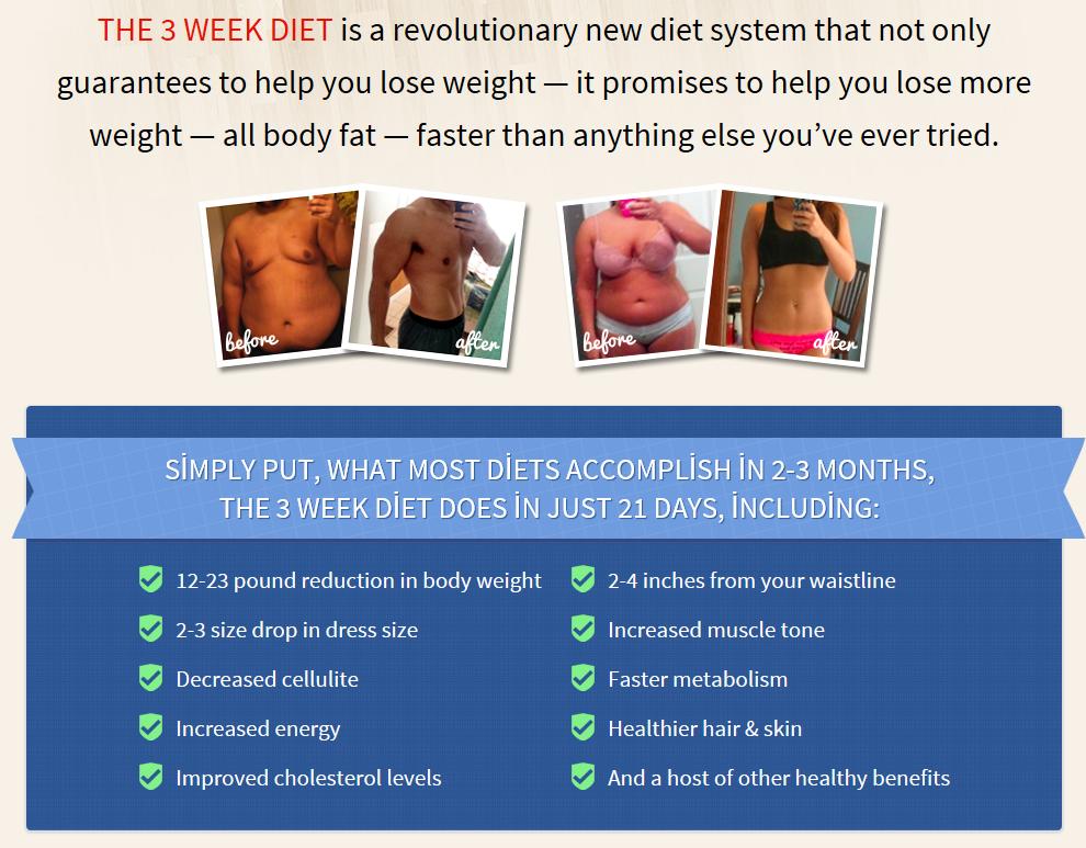 The 3 Week Diet Does It Work