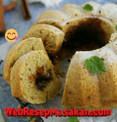 Banana Cinnamon Cake, Resep banana cinnamon cake,