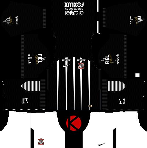 5077548e05f Corinthians 2017 18 - Dream League Soccer Kits - Kuchalana