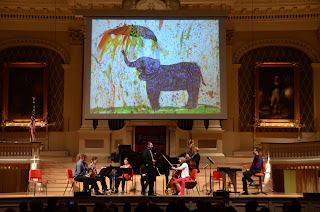 ArtWeek: Worcester Chamber Music Society - Multi-media Concert - May 6