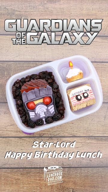 How to make a Guardians of the Galaxy Star-Lord birthday lunch