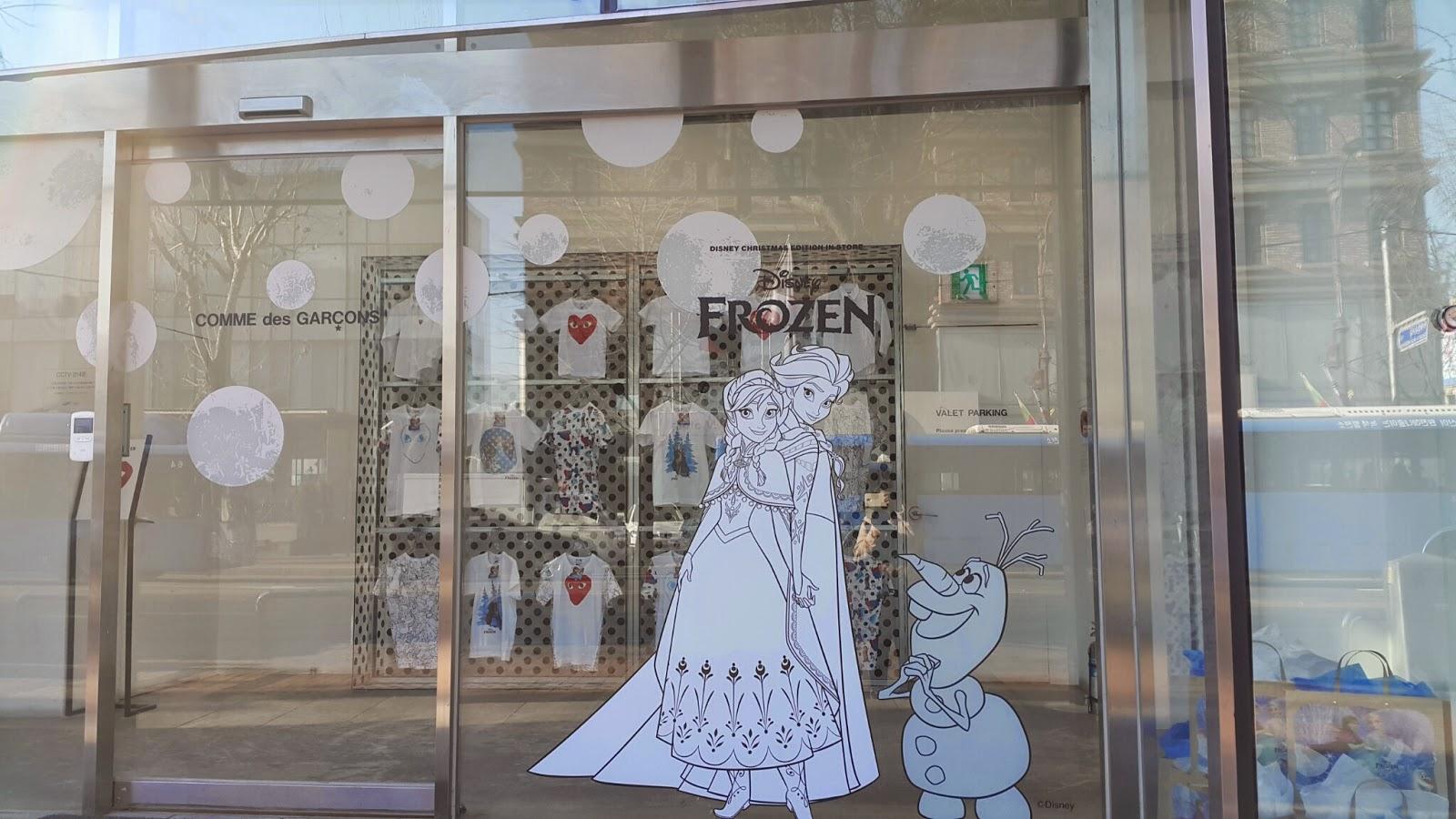 Frozen in white