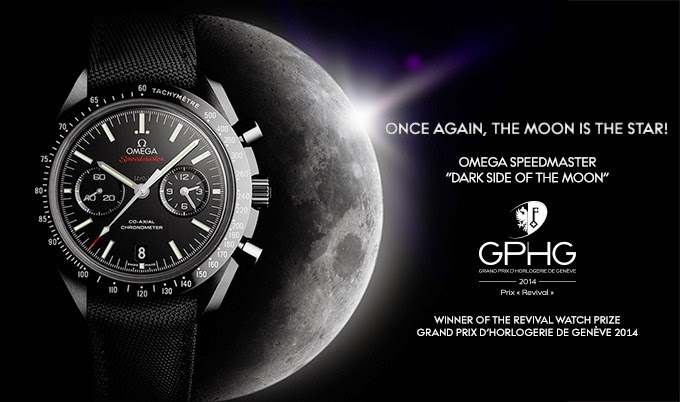 "OMEGA Speedmaster ""Dark Side of the Moon"" wins Revival Watch Prize"
