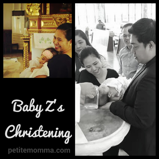 christening at michael the archangel chapel fort bonifacio