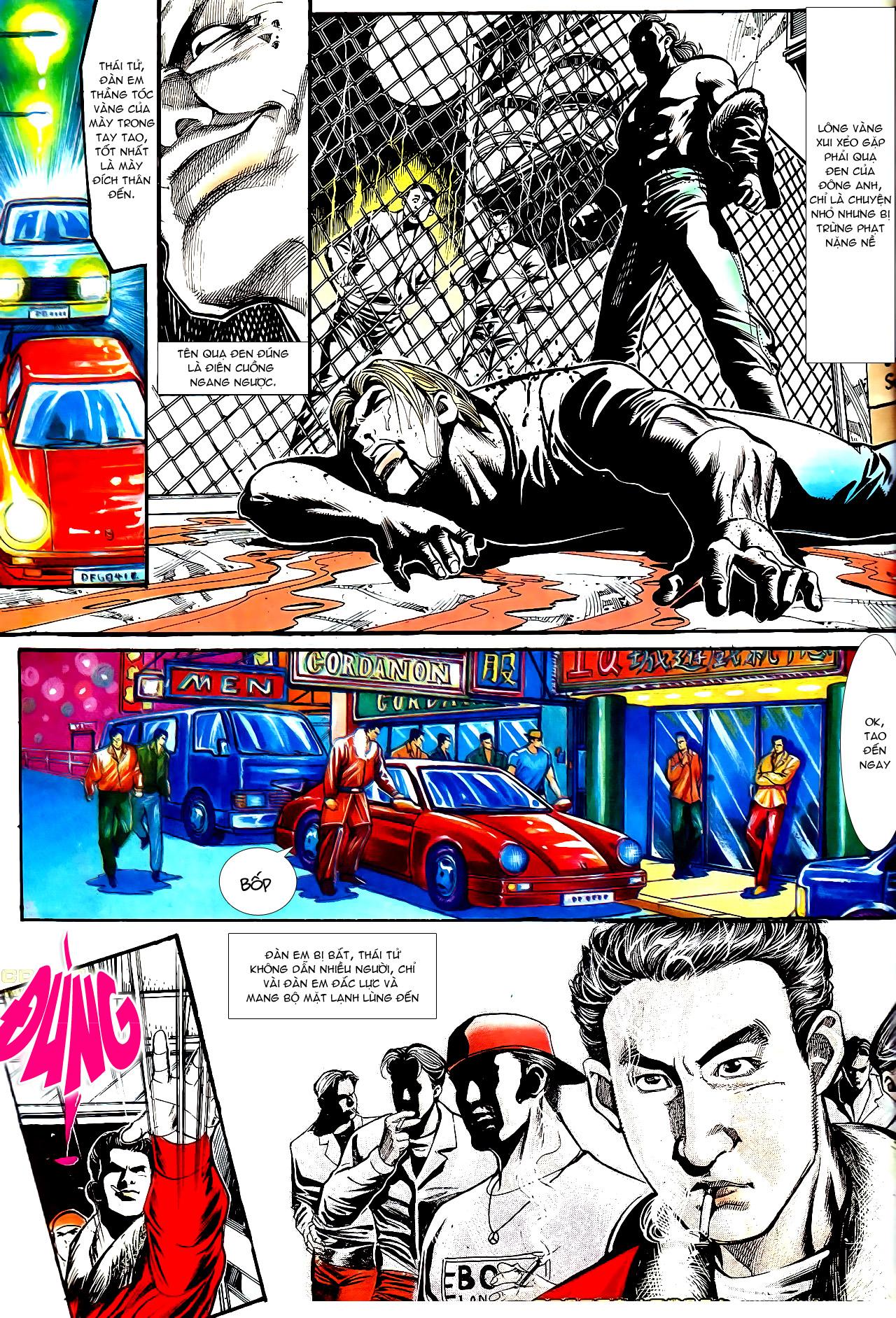 Người Trong Giang Hồ chapter 154: nam đẹp trai trang 10