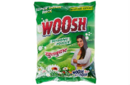 Woosh Detergent Powder 4KG For Rs 180 (Mrp 225) at Amazon