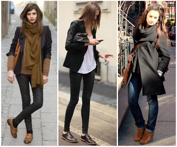 3902f38b6 Hoje trago para vocês vários looks usando o sapato oxford que é uma  tendência que sempre chega com tudo no inverno. Sou apaixonada pelo modelo  por vir do ...
