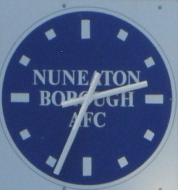 Clock At Nuneaton