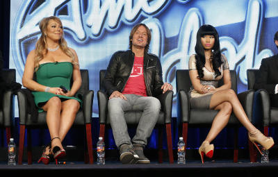 TV-American Idol-Judges Drama