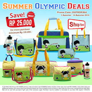 Summer Olympic Deals by Char & Coll