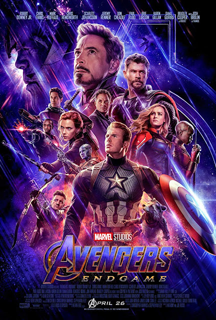 Avengers Endgame 2019 movie poster