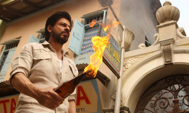 SRK, Raees, Explosion