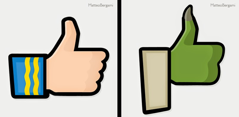 11-Spock-&-Yoda-Matteo-Bergami-Facebook-Hand-Thumbs-Up-Art-www-designstack-co