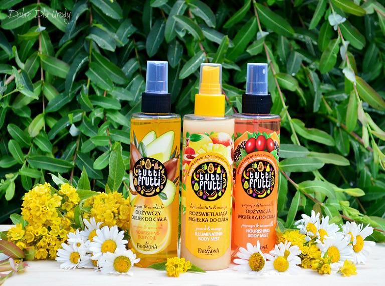 Obłędnie owocowe mgiełki i olejek do ciała Farmona Tutti Frutti - nie tylko na lato!