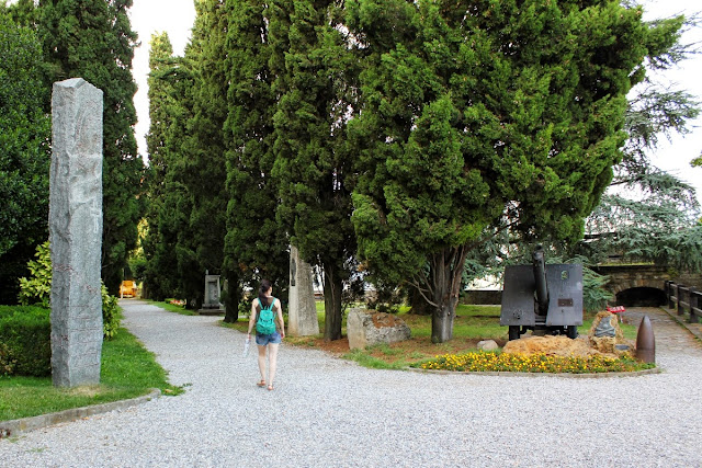 Parque delle Rimembranze en la Rocca (Bergamo)