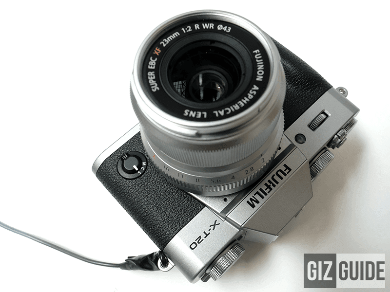 The new Silver X-T20 with the silver 23 F2 R WR lens!