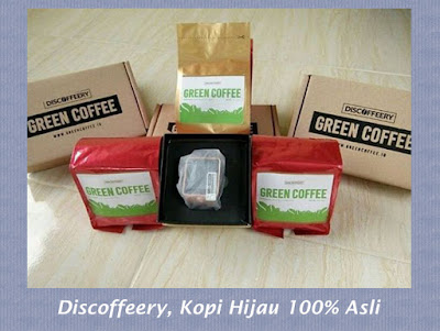 Discoffeery Kopi Hijau