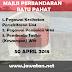 Jobs in Majlis Perbandaran Batu Pahat (30 April 2018)
