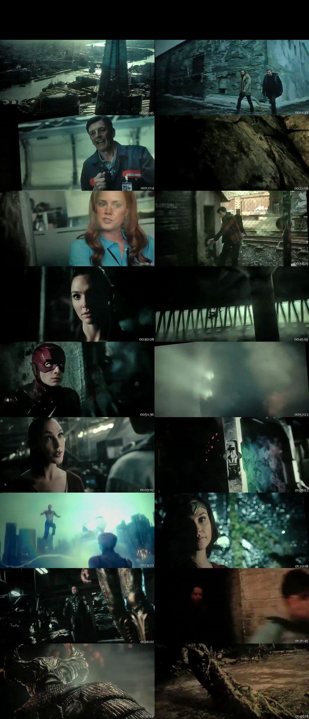 Screen Shot Of Justice League 2017 300MB Full Movie Hindi Dubbed Free Download 480P HDTS Small Size PC Movie