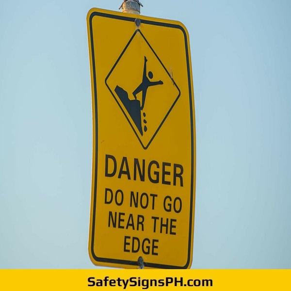 Outdoor Danger Sign