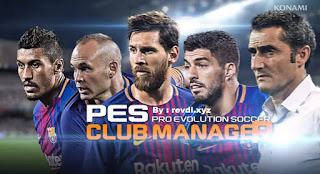 Download PES CLUB MANAGER Apk v1.7.2 Mod Data for android
