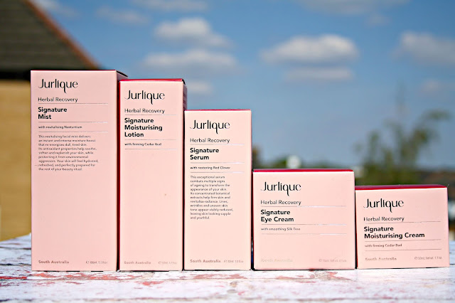 Jurlique Herbal Recovery Signature range