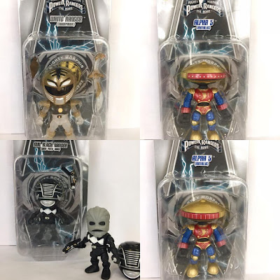 San Diego Comic-Con 2017 Exclusive Power Rangers Action Vinyls Variant Figures by The Loyal Subjects