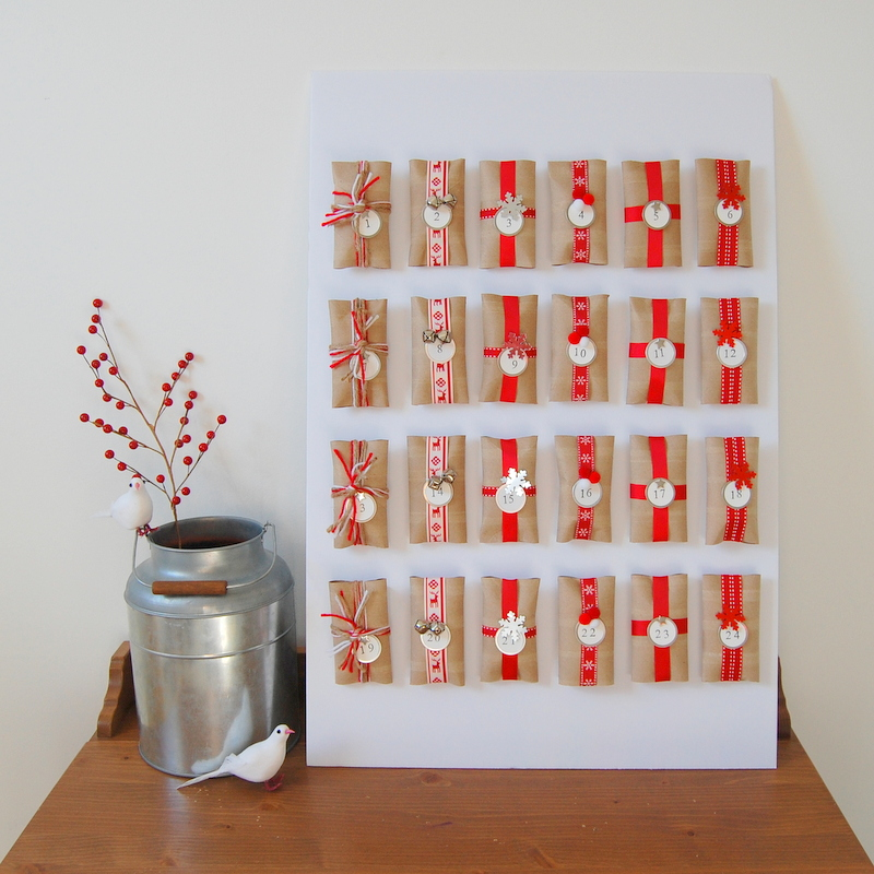 25 ιδέες για diy advent calendar!